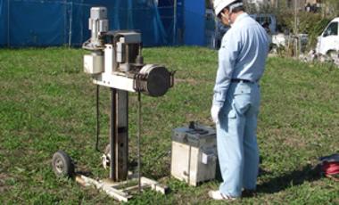 地盤調査/地盤改良工事